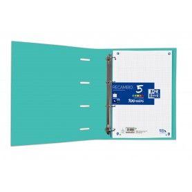 MIQUELRIUS Recambio Notebook 1 Bloc A4 100H. Cla. azul