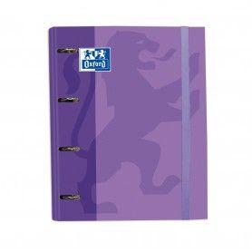 ELBA Módulo A4, 2 archivadores anchos, azul