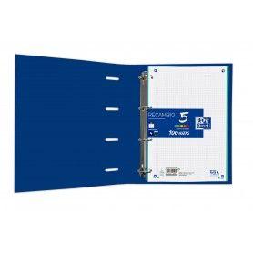 ELBA Módulo A4, 3 archivadores estrechos, azul