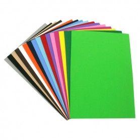 ELBA Pack 10 carpetas colgante cristal A4, Bicolor