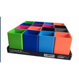 ENRI Cuadernos espiral 4º 80H. 4x4 con margen colores surtidos