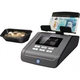 Balanza contadora de dinero safescan 6165 cuenta monedas billetes cartuchos de monedas y fajos de billetes