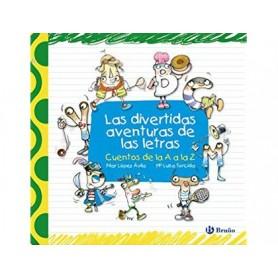 Libro bruño divertidas aventuras de las letras tapa cartone 408 paginas 220x215 mm