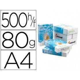 Papel fotocopiadora nautilus superwhite 100% reciclado din a4 80 gramos paquete de 500 hojas