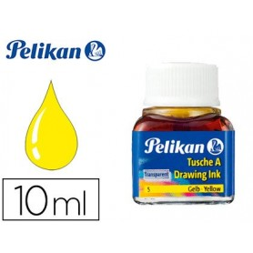 Tinta china pelikan amarillo n.5 frasco 10 ml