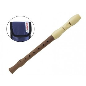 Flauta hohner madera alegra funda azul