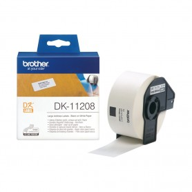 ETIQUETAS BROTHER DK-11208 38X90