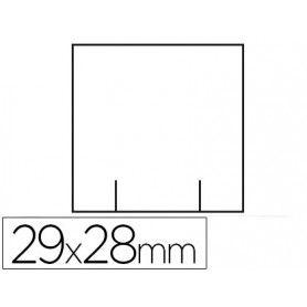 Etiquetas meto blanca 29x28 mm troquelada rollo de 700 etiquetas