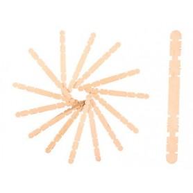Palitos de madera colore natural 114x10x20 mm bolsas de 100 unidades