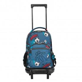 Mochila escolar pequeña ruedas - Resma -Totto MA03ECO005-2010V-7F7-
