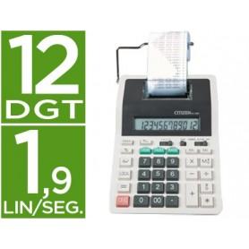 Calculadora citizen impresora pantalla papel cx-32 12 digitos con tecla de impuestos