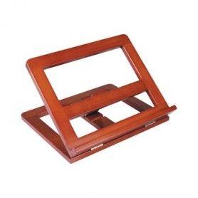 Atril sujetalibros madera -color cognac