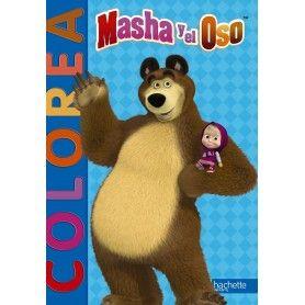 COLOREA - MASHA Y EL OSO