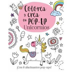 COLOREA Y CREA TU POP-UP - UNICORNIOS