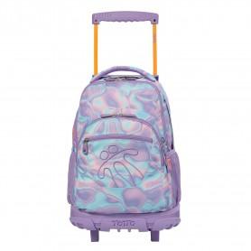 Mochila escolar con ruedas - Renglon -Totto MA03ECO003-2010P-0QJ-