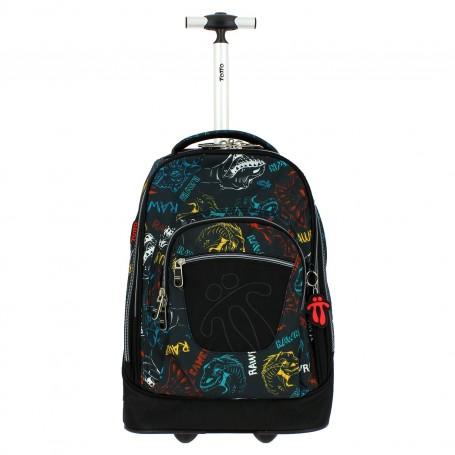 Mochila escolar con ruedas - Papel -Totto MA03ECO010-2020H-2CH-