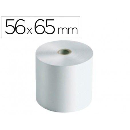 Rollo sumadora electro 56 mm ancho x 65 mm diametro sin bisfenol a
