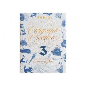 LIBRO CALIGRAFIA CREATIVA 3 RUBIO