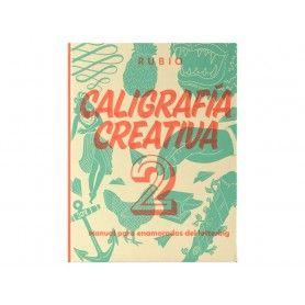 LIBRO CALIGRAFIA CREATIVA 2 RUBIO