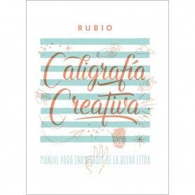 LIBRO CALIGRAFIA CREATIVA 1 RUBIO
