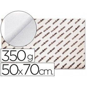 Papel acuarela 50x70 de 350 gr -grano grueso