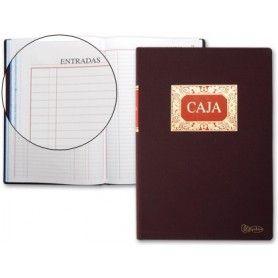 Libro miquelrius folio 100 h. caja entrada y salida