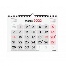 CALENDARIO PARED NÚMEROS GRANDES S 2022 21x15CM