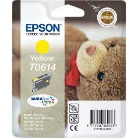 CARTUCHO DE TINTA EPSON T0614 AMARILLO (OSITO)