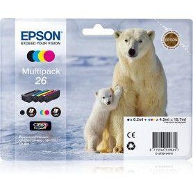 PACK CARTUCHOS DE TINTA EPSON T26 (OSO POLAR)