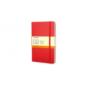 MOLESKINE NOTEBOOK PKT RUL RED HARD