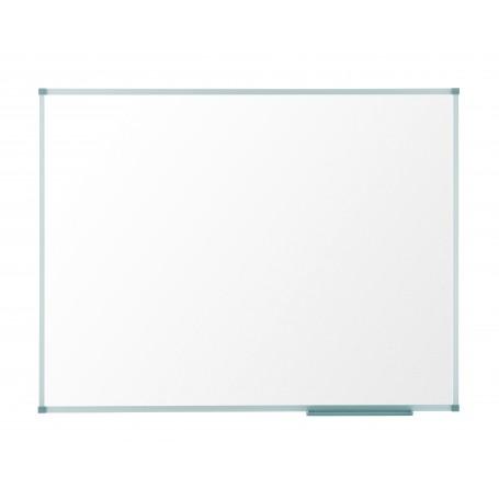 Pizarra blanca nobo nano clean magnetica lacada acero marco aluminio 150x100 cm