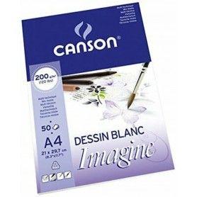 CANSON BLOC A4 50H IMAGINE FINO 200G