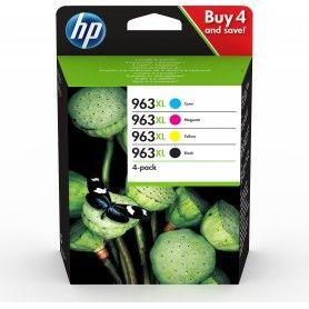 PACK CARTUCHOS DE TINTA HP 963 XL B C M Y