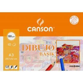 CANSON MINIPACK BASIK A3 10H. DIBUJO LISO 130G