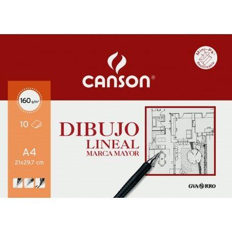 CANSON MINIPACK A4 10H MARCA MAYOR 160G