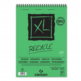 CANSON BLOC MICROPERF. A4 50H XL RECYCLED FINO 160G