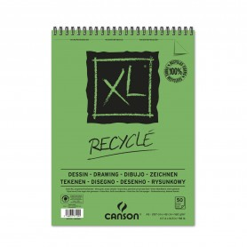 CANSON BLOC MICROPERF. A3 50H XL RECYCLED FINO 160G