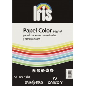 CANSON PACK IRIS 21X29,7 100H. REPRO 80G AMARILLO LIMÑN