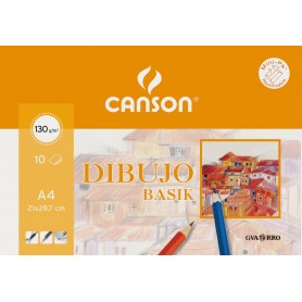 CANSON MINPACK BASIK 130G 10HJ A4