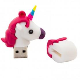 PEN DRIVE USB 32 GB SILICONA UNICORNIO