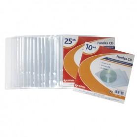 """BOLSA 10 FUNDAS """"CD""""1/8"""