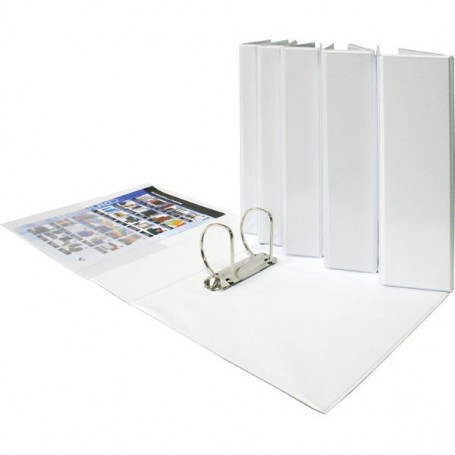 CARPETA CANGURO TOTAL XS A4 2D25MM BLANCA