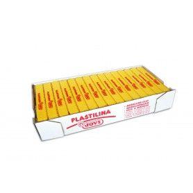 JOVI PLASTILINA 1 PASTILLA DE 50 G AMARILLO