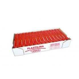 JOVI PLASTILINA 1 PASTILLA DE 50 G ROJO