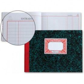 Bloc examenes liderpapel horizontal folio 40 hojas 60g/m2