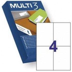 ETIQUETAS MULTI3 105X148 500H
