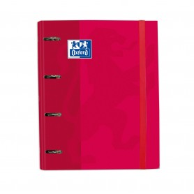 EUROPEANBINDER SCHOOL A4 TED ROJO
