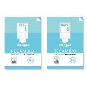 PACSA RECAMBIO A4. 70GRS CUADRICULA 4X4.