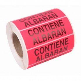 200 ETIQUETAS ADHESIVAS CONTIENE ALBARAN