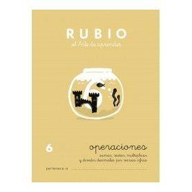 CUADERNO RUBIO PROBLEMAS N? 6